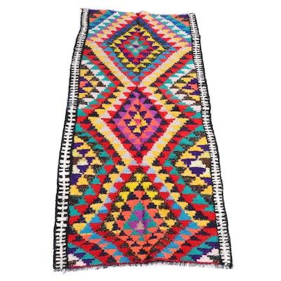 5'5 x 12'5 Handwoven Persian Kilim Wool Rug