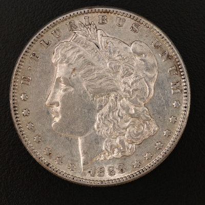 Better Date Lower Mintage 1888-S Morgan Silver Dollar