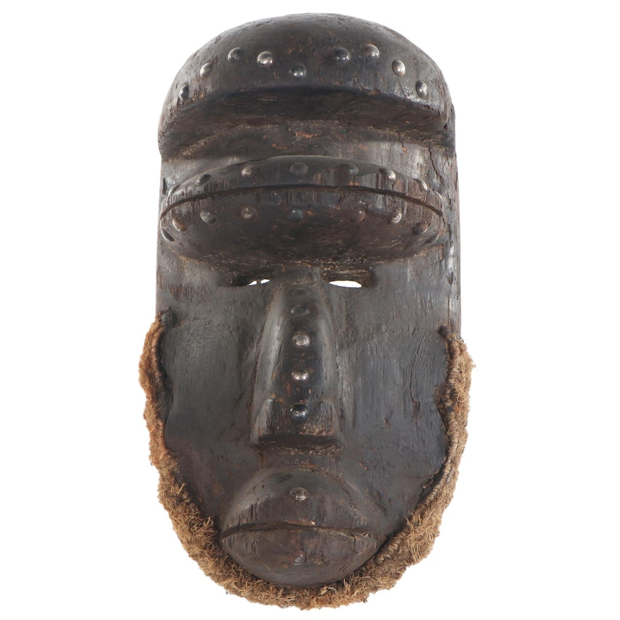 Bete Style Wooden Mask, West Africa