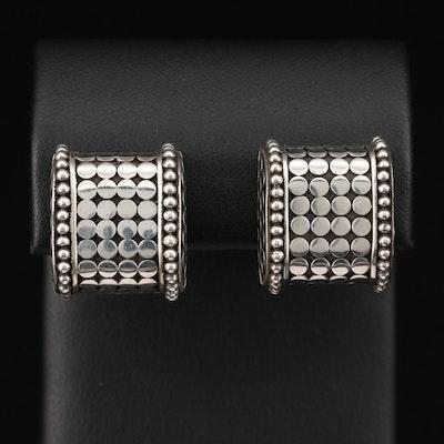 """John Hardy Sterling Silver """"Dot"""" Earrings"""