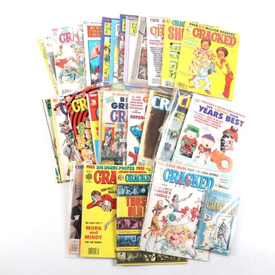 """Collection of 1970s - 1990s """"Cracked Magazine"""""""