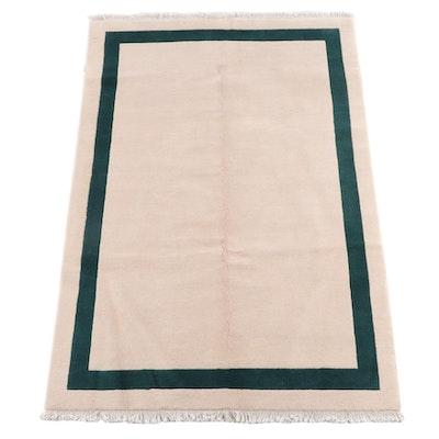 5'2 x 8'4 Hand-Knotted Tibetan Modern Wool Rug