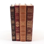"Signed Easton Press Edition Books Including ""The French Lieutenant's Woman"""
