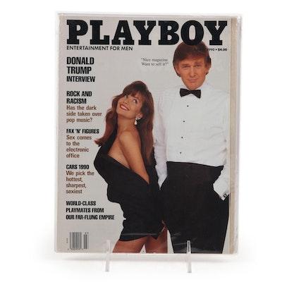 Donald Trump 1990 Playboy Magazine Issue