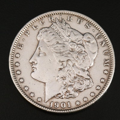 Better Date 1901 Morgan Silver Dollar