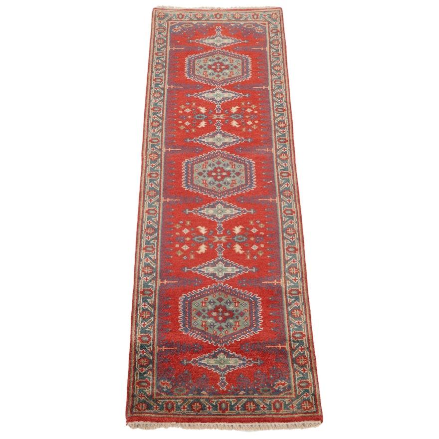 2'7 x 8' Hand-Knotted Persian Viss Carpet Runner