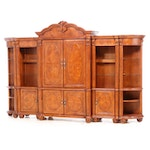 OKI Baroque Style Bookcase Wall Units, Late 20th Century