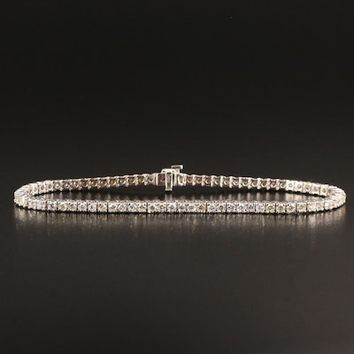 14K Gold 4.03 CTW Diamond Tennis Bracelet
