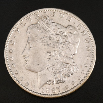 Better Date 1890-S Morgan Silver Dollar
