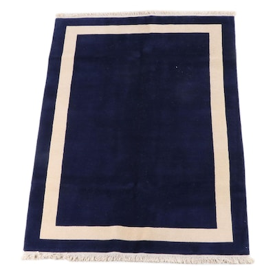 5'1 x 7'5 Hand-Knotted Tibetan Wool Rug