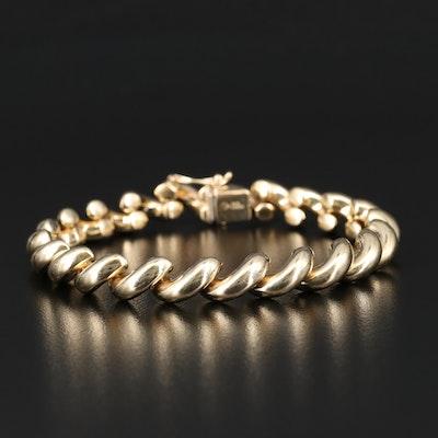 14K San Marco Link Bracelet