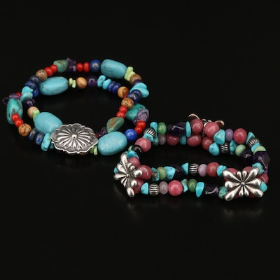 Southwestern Gemstone Bracelets Featuring Carolyn Pollack for Relios