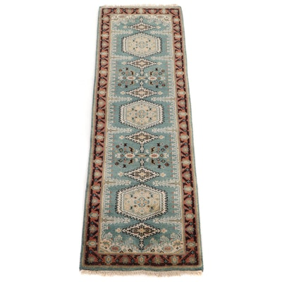 2'6 x 8' Hand-Knotted Persian Viss Carpet Runner