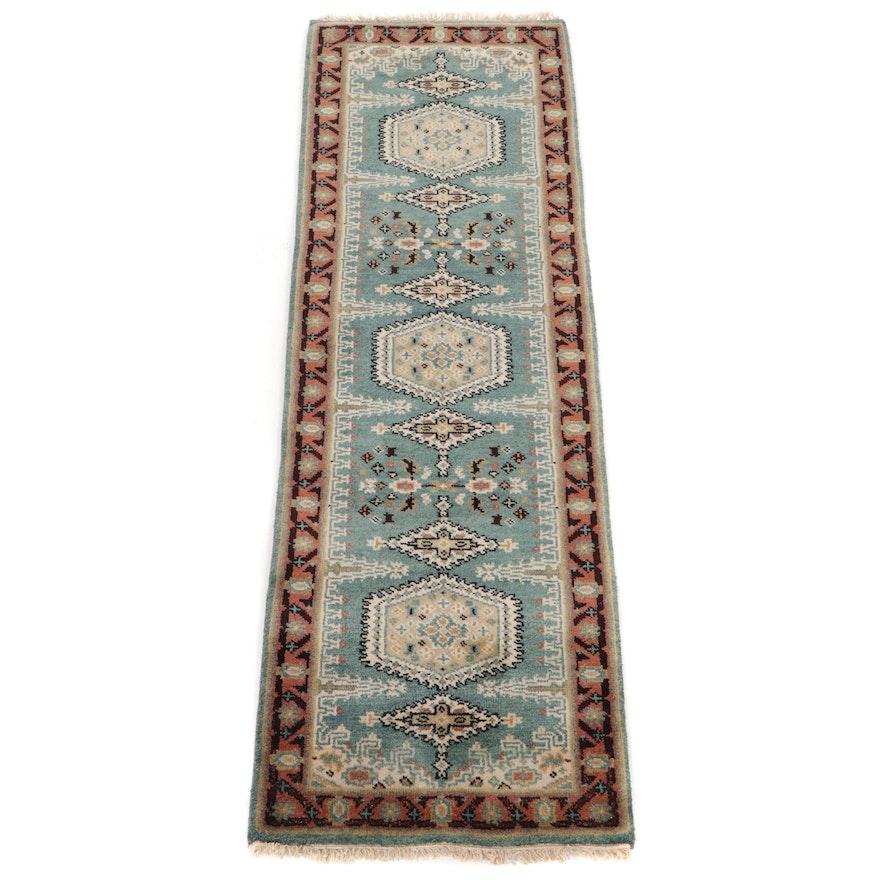 2'6 x 8' Hand-Knotted Persian Viss Carpet Runner
