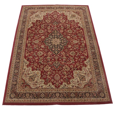 "7'11 x 11'2 Machine-Loomed Turkish ""Medallion Kashan"" Area Rug"