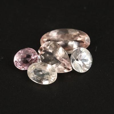 Loose 4.02 CTW Gemstones Including Spinel, Morganite and Zircon