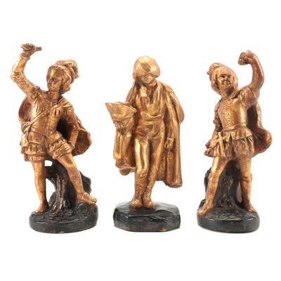 Thanhardt Burger Corp Plaster Figurines