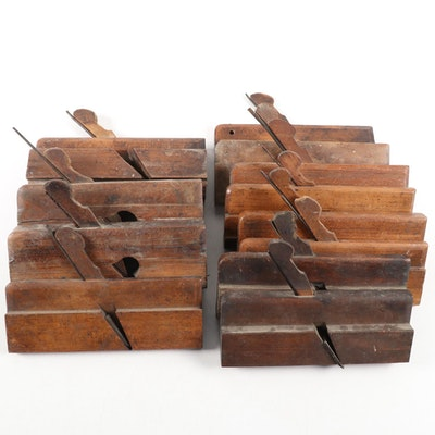 Bench Made Wood Block Planes, 19th and Early 20th Century