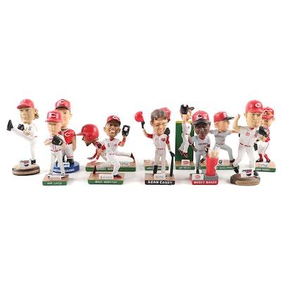 Cincinnati Reds Stadium Giveaway Bobblehead Dolls in Packaging