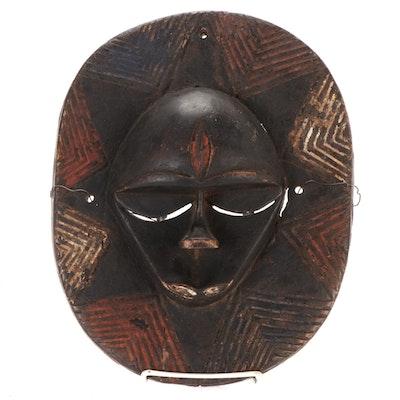 Eket Carved Wood Mask, Nigeria