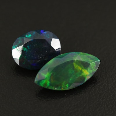 Loose 3.66 CTW Faceted Opals
