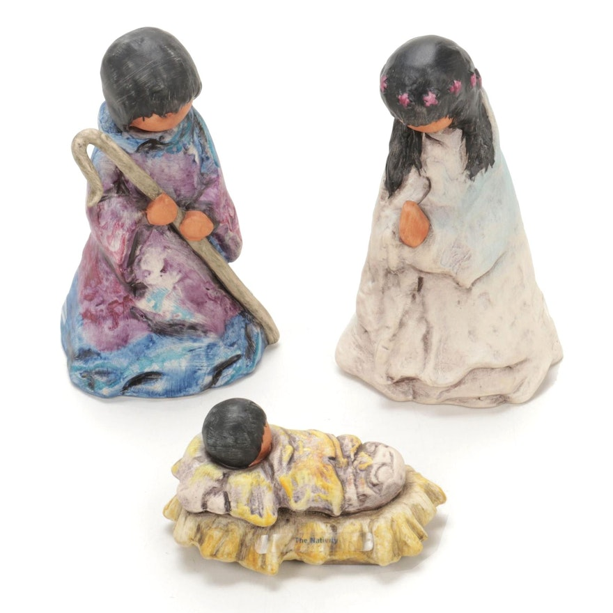 "Goebel ""The Nativity"" Figurines by Ted DeGrazia"