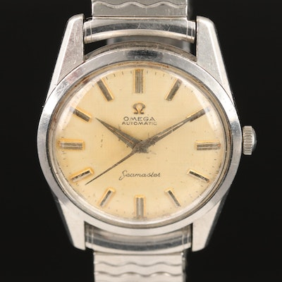 Omega Seamaster Automatic Stainless Steel Wristwatch