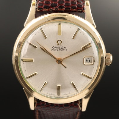 1966 Omega KL6312 10K Gold Filled Automatic Wristwatch