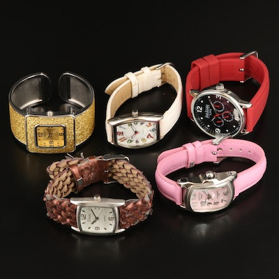 Quartz Fashion Wristwatches