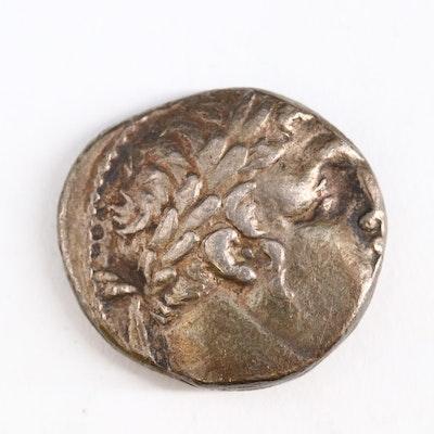 Ancient Ptolemaic Egypt, Alexandria AR Tetradrachm Coin, ca. 200 B.C.