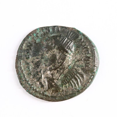 Ancient Roman Imperial AE3 Coin of Constantine II, ca. 324 A.D.