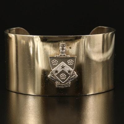 Phi Gamma Delta Heraldic Insignia Cuff