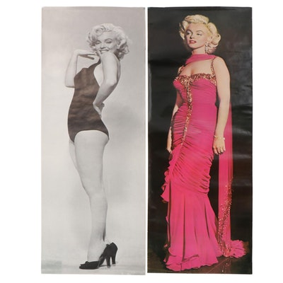 Large-Scale Photomechanical Print Posters of Marilyn Monroe