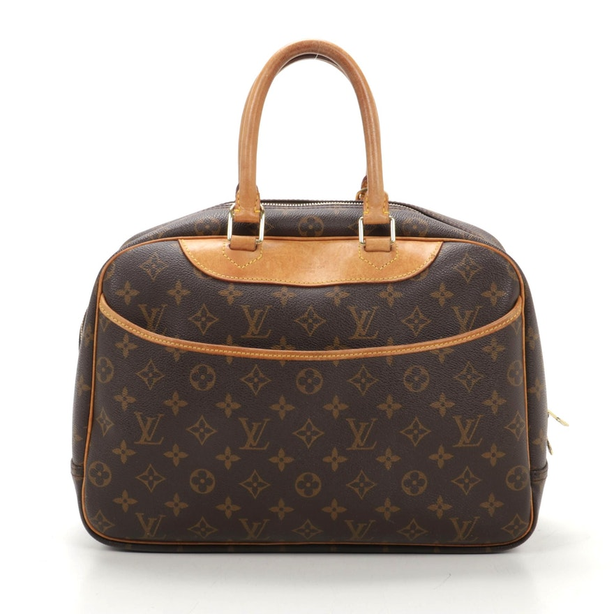 Louis Vuitton Deauville in Monogram Canvas and Leather