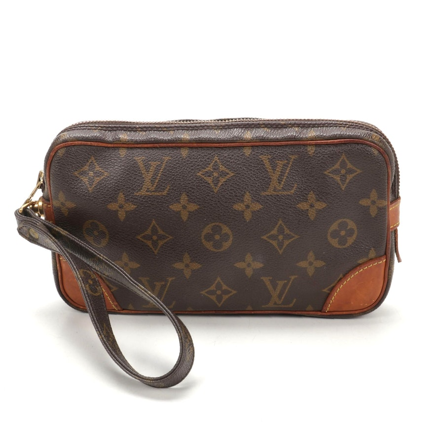 Louis Vuitton Marly Dragonne PM in Monogram Canvas and Leather