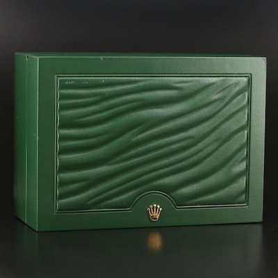 Rolex Green Vinyl Watch Case