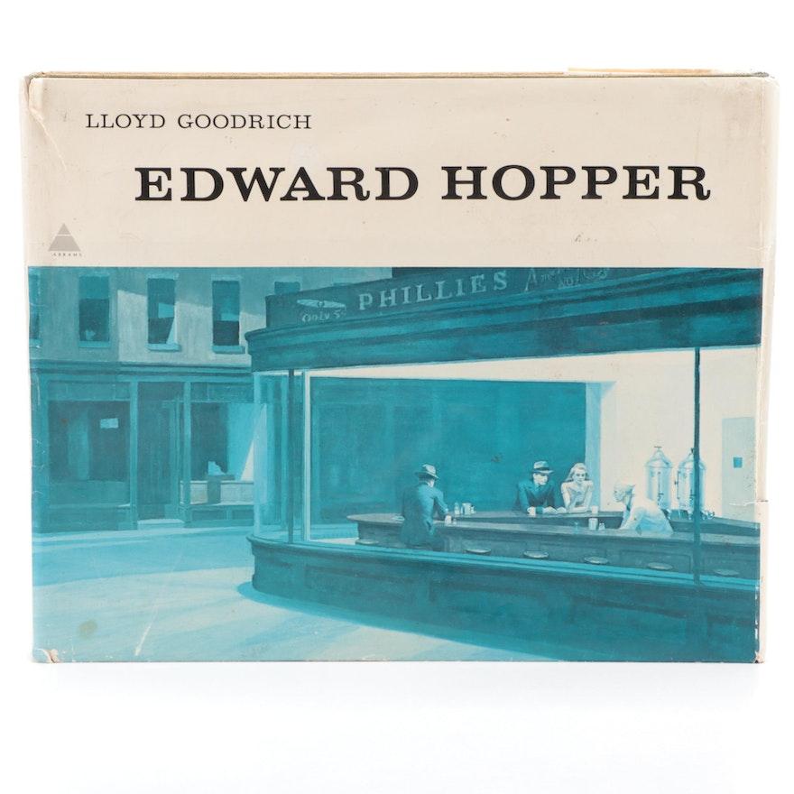 """Oblong Folio """"Edward Hopper"""" with Text by Lloyd Goodrich, 1978"""