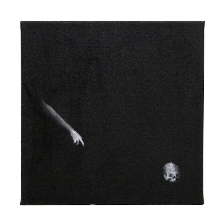 "Neil Polson Acrylic Painting ""Untitled,"" 2007"