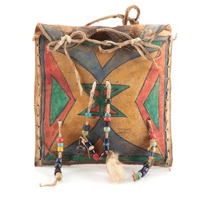 Lakota-Sioux Style Parfleche Bag
