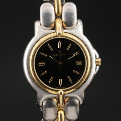 Bertolucci Pulchra 18K Gold and Stainless Steel Wristwatch