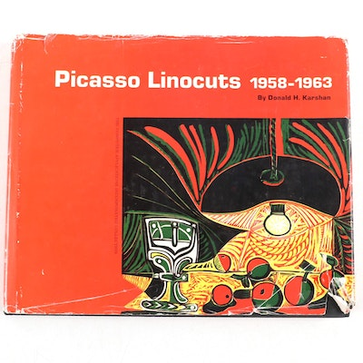 """""""Picasso Linocuts 1958–1963"""" by Donald H. Karshan, 1968"""