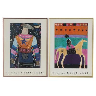 Offset Lithographs after George Littlechild, 21st Century
