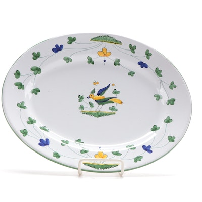 Italian Hand-Painted Serving Platter for Williams Sonoma