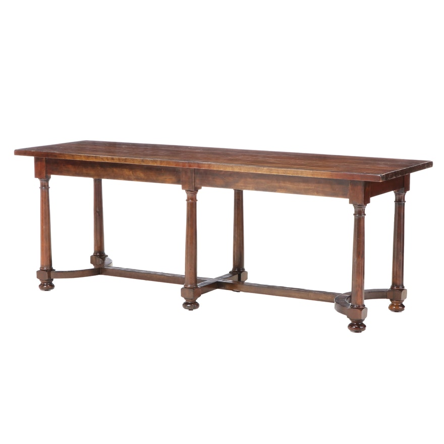"Bernhardt ""Vintage Patina"" Console Table"