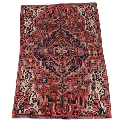 5'3 x 8'10 Hand-Knotted Northwest Persian Wool Area Rug