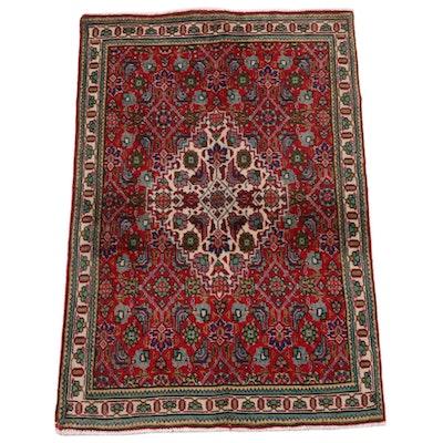 3'1 x 4'10 Hand-Knotted Persian Gogarjin Herati Wool Rug