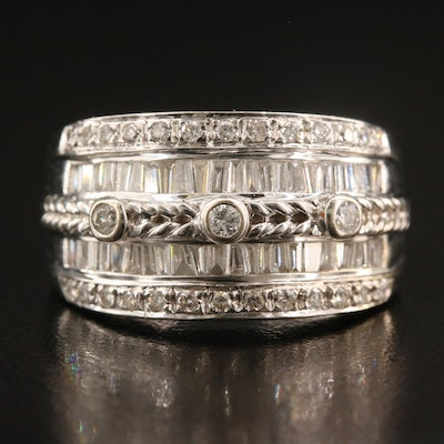 14K 1.12 CTW Diamond Band