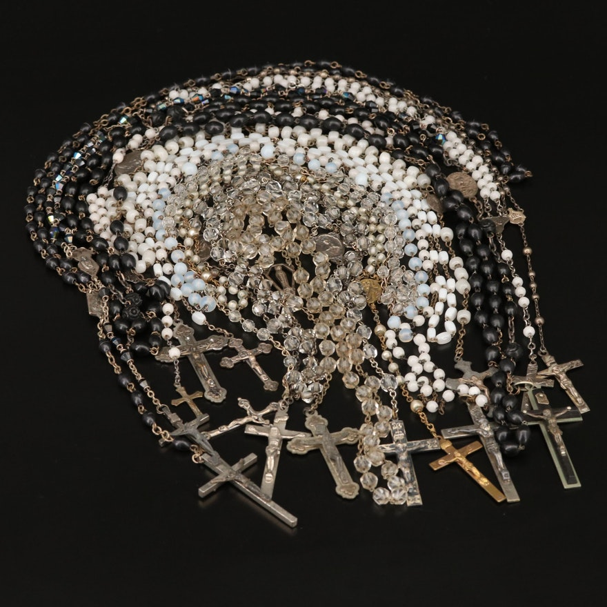 Beaded Rosaries, 20th Century