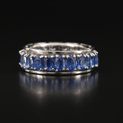 Sterling Silver Kyanite Spinner Ring
