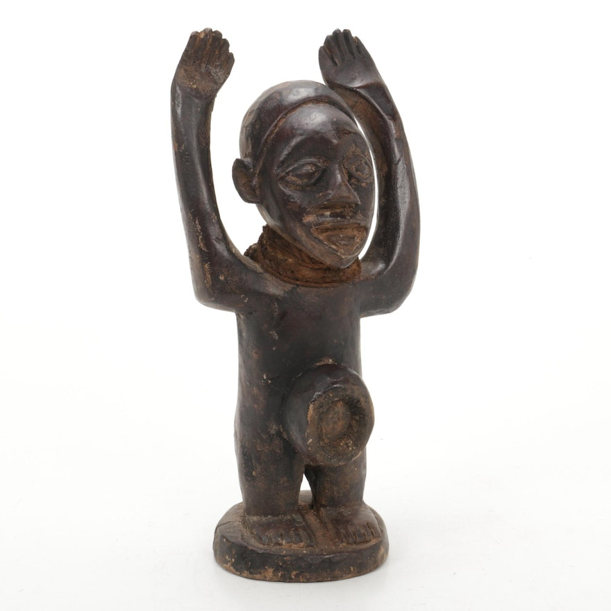 Yombe Style Wood Figure, Central Africa